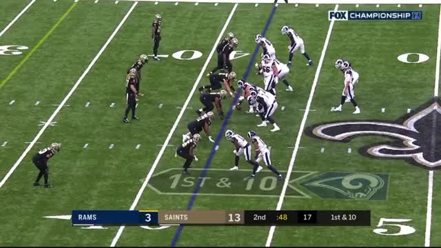 Watch and share New Orleans Saints GIFs and Los Angeles Rams GIFs by Matt Weston on Gfycat