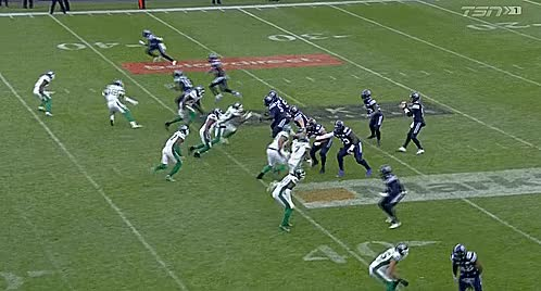 Watch 20171120 - EF - SSK 21 @ TOR 25 - BMO Field - 15 Ricky Ray - Missed Throw GIF by Archley (@archley) on Gfycat. Discover more 2017, Argonauts, BMO Field, CFL, East Final, Football, Ricky Ray, Roughriders, Saskatchewan, Toronto GIFs on Gfycat
