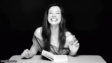stoya, Stoya laughing GIFs