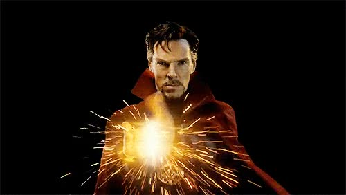 Watch this doctor strange GIF on Gfycat. Discover more avengers, benedict cumberbatch, docter, doctor strange, marvel, okau, sorcerer supreme, stephen strange, strange, um GIFs on Gfycat