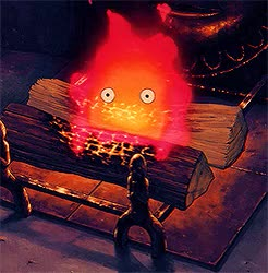 Watch and share Studio Ghibli GIFs and Calcifer GIFs on Gfycat