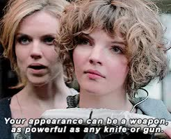 Watch and share Camren Bicondova GIFs and Erin Richards GIFs on Gfycat