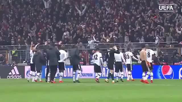 Watch Beşiktaş porto maç sonu üçlü GIF on Gfycat. Discover more related GIFs on Gfycat