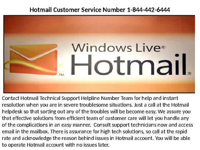 Watch and share Hotmail Technical Support Number 1-844-442-6444 GIFs by steffanjackson on Gfycat