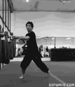 martial arts kicks flips tricking corkscrew anis cheurfa gif GIFs