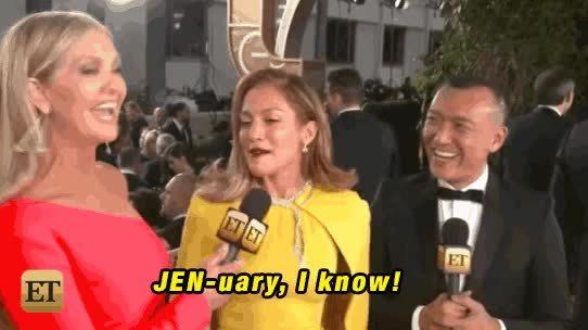goldenglobes, jenniferlopez, jenuary, JLo's month GIFs