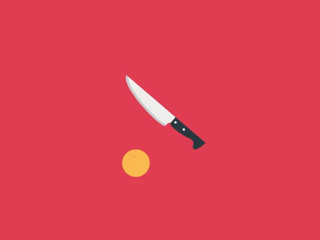 Watch and share Fruit GIFs and Knife GIFs by Framesequence on Gfycat