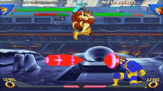 HD] - Fightcade - Xmen Vs Street Fighter - SmileyFace(ROM