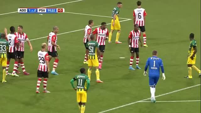 Watch and share Legendarische Goal Martin Hansen In Blessuretijd ADO Den Haag - PSV (2-2) GIFs on Gfycat