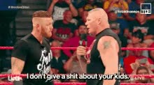 Watch and share Brock Lesnar Heath Slater GIFs on Gfycat