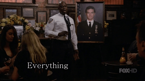 brooklynninenine, Everything is GARBAGE GIFs