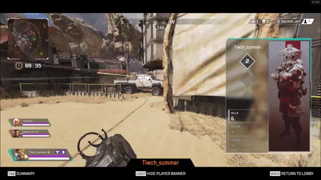 Watch and share ApexLegends - Tiwch Summer Aimbot GIFs by KobaKiju on Gfycat