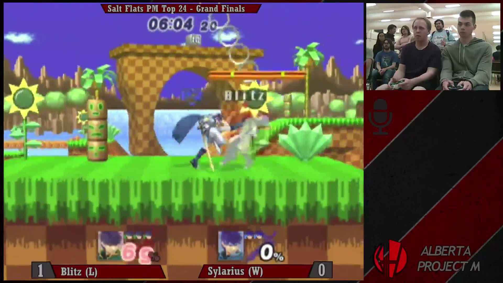 alberta, alphicans, bowser, calgary, edmonton, fox, melee, odds, project m, smash, Wall Jump Recovery - Salt Mines PM - Sylarius (Ike) vs Blitz (Ike) - Grands Finals GIFs