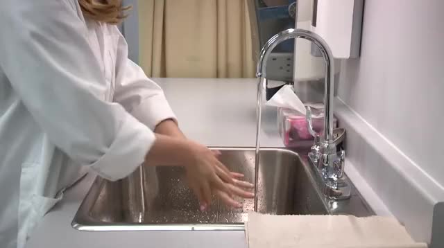 Watch and share Wash Hands GIFs by Centre for Collaborative Clinical Learning and Research on Gfycat