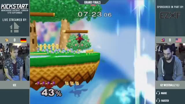 Kickstart 11 - Ice (Fox) vs Westballz (Falco) - Grand Finals