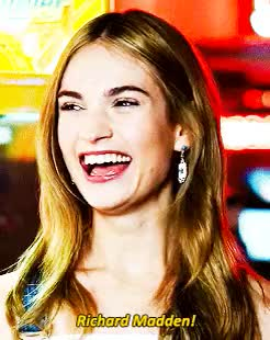 Watch this lily james GIF on Gfycat. Discover more cinderellaedit, downtownedit, lily james, lily james gifs, lilyjamesedit, ljamesedit, ljsedit, richard madden, type: gifs GIFs on Gfycat