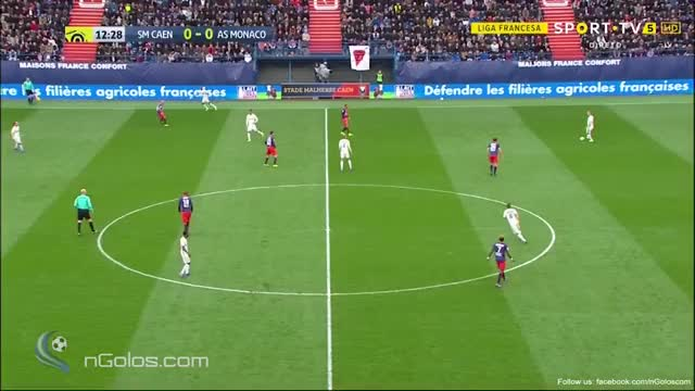 Watch and share Caen 0-1 Monaco (www.nGolos.com) GIFs on Gfycat