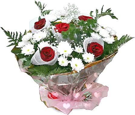 Watch and share Flowers Valentines Day Animated Clr animated stickers on Gfycat