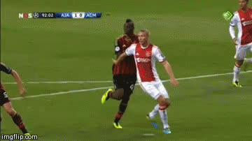 Balotelli not helping the game with theatrics GIFs