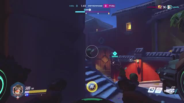 How to actually kill people with D Va's ult GIF by