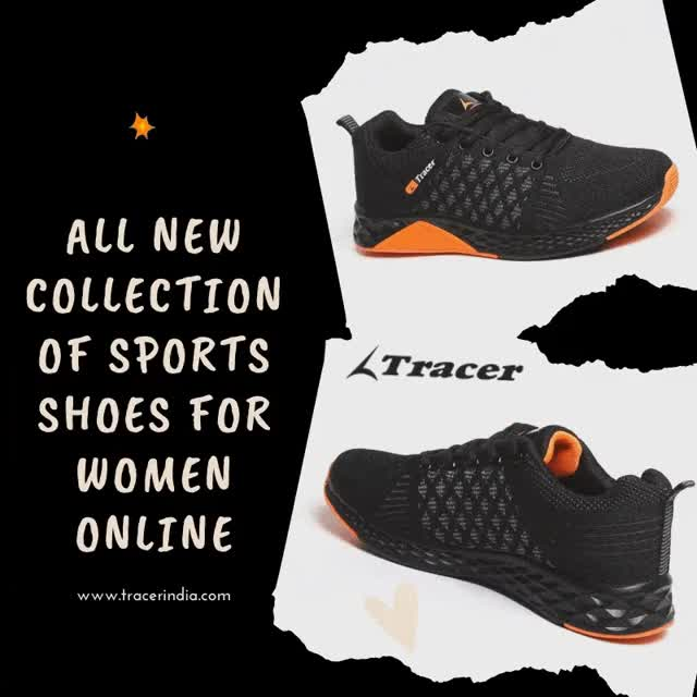 Watch and share Sports Shoes For Women Online | Tracer Shoes GIFs by paramjitsingh on Gfycat