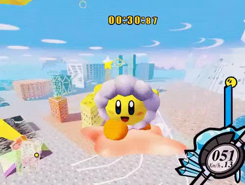 Watch and share Flight Warpstar GIFs and Kirby Air Ride GIFs on Gfycat