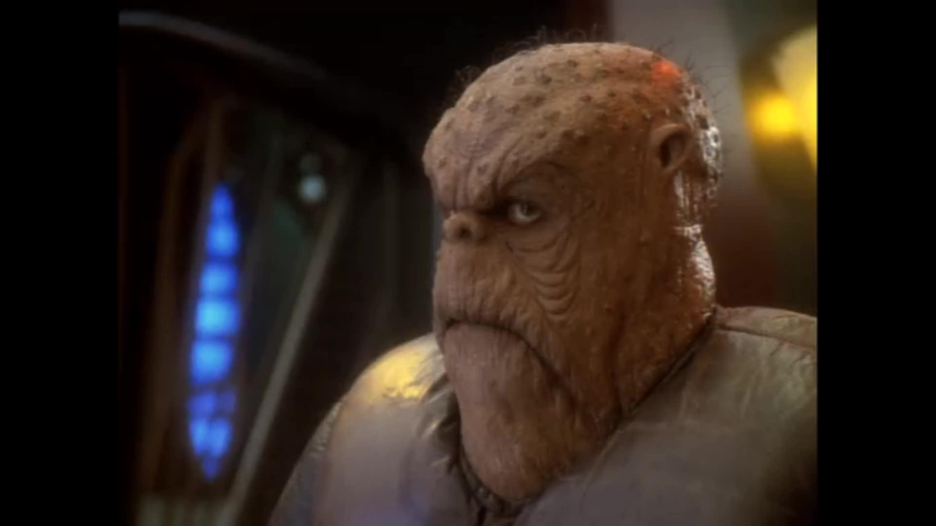 DS9, Deep Space Nine, Morn, Reaction, Star Trek, Star Trek Deep Space Nine, Who Mourns For Morn?, MornNod GIFs