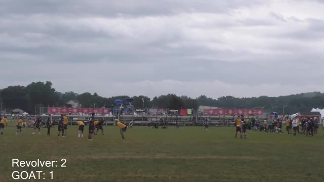 Watch San Francisco Revolver(USA) vs Toronto GOAT(CAN) | 2018 WUCC Men's Semifinal - ByronWideSide GIF on Gfycat. Discover more Akshat Rajan, Film & Animation, ultimate GIFs on Gfycat