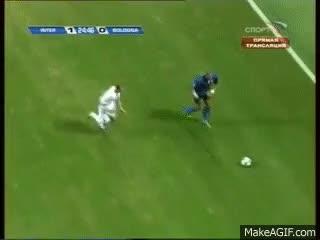Watch and share Inter - Bologna Zlatan Ibrahimovic Goal GIFs on Gfycat
