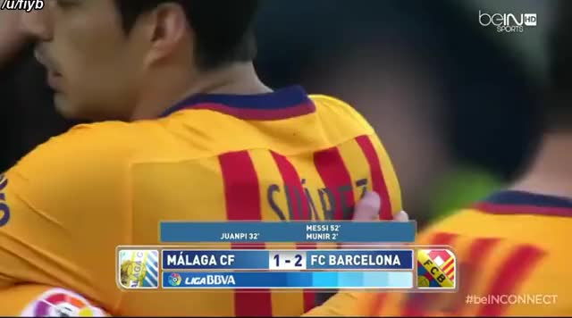 Watch Messi Giving his shirt to Pitch Invader against Malaga - Streamable GIF by zmartine on Gfycat. Discover more HumansBeingBros, footbaww GIFs on Gfycat