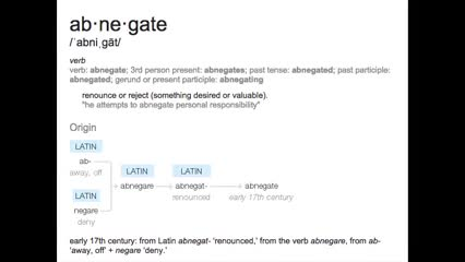 Watch Abnegate Meaning GIF on Gfycat. Discover more abnegate, attempts, desired, personal, reject, renounce, responsibility, something GIFs on Gfycat