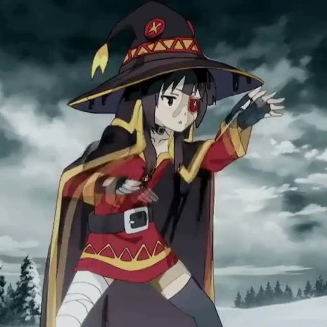 Watch and share Megumin Uses Martial Arts GIFs on Gfycat