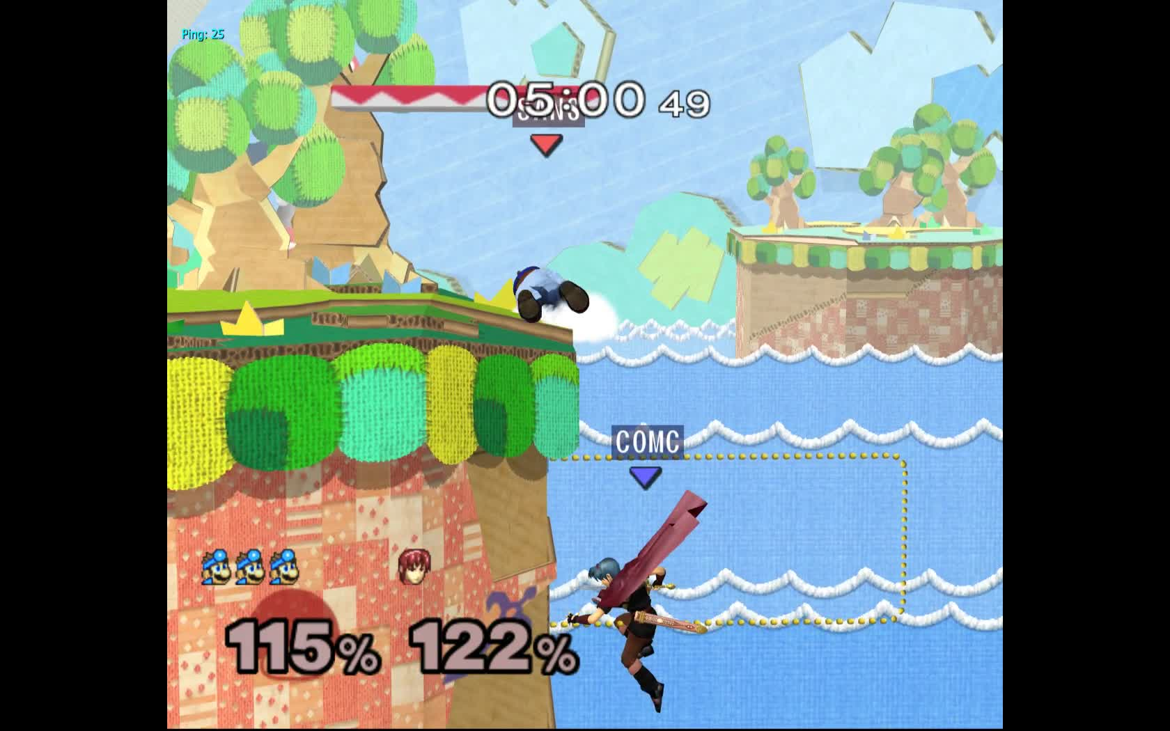 smashgifs, ssbm, ssmb, well i guess melee didn't want to give me the kill (part 2) GIFs