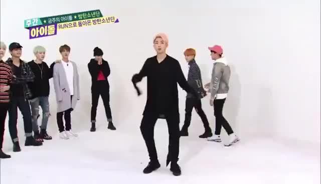 Watch and share Rap Monster Octopus Dance GIFs on Gfycat