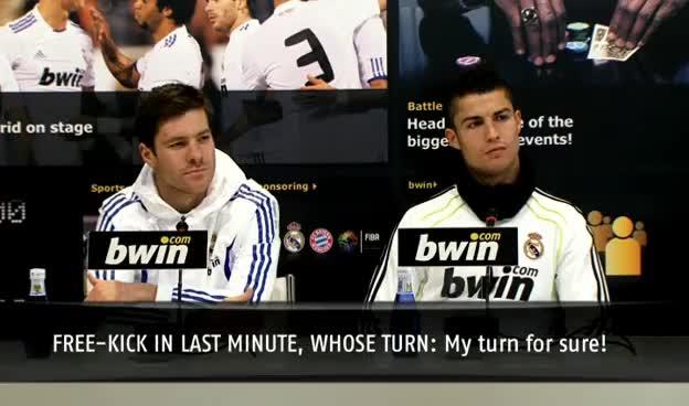 Watch and share Cristiano Ronaldo GIFs and Xabu Alonso GIFs on Gfycat