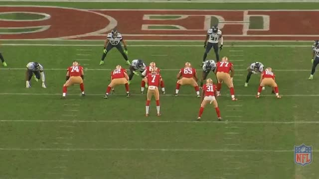 Watch and share 49ers Seahawks2 Kap Celek TD GIFs by mrg80 on Gfycat