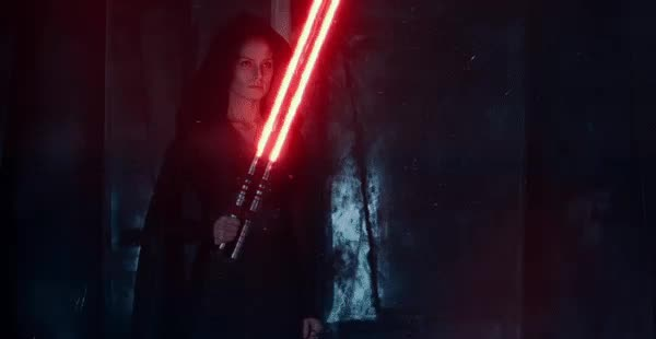 Watch and share Sith Army Knife. - - StarWars RiseOfSkywalker GIFs by octocode on Gfycat
