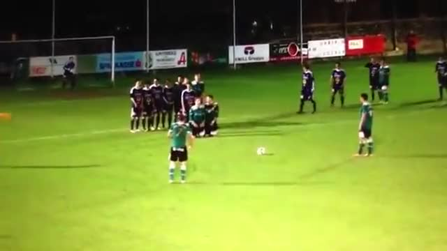 Watch and share Best  Freekick Ever GIFs by zpowdev on Gfycat