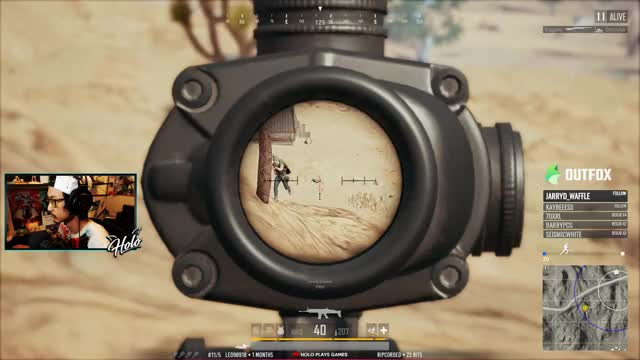 Watch Holo Playing PLAYERUNKNOWN'S BATTLEGROUNDS - Twitch Clips GIF on Gfycat. Discover more battlegrounds, playerunkown, playerunkowns battlegrounds, pubg, squad GIFs on Gfycat