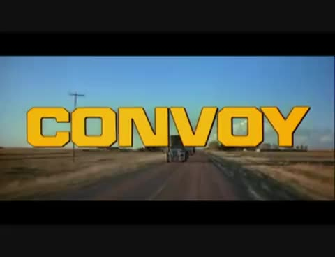 Convoy, Peckinpah, Trucker, duck, kris, kristofferson, mccall, roadmovie, rubber, sam, singer, soundtrack, Convoy GIFs