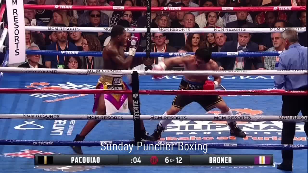 Adrien Broner, Boxing, Counter, Manny Pacquiao, Sports, Adrien Broner lands a beautiful counter on Manny Pacquiao GIFs