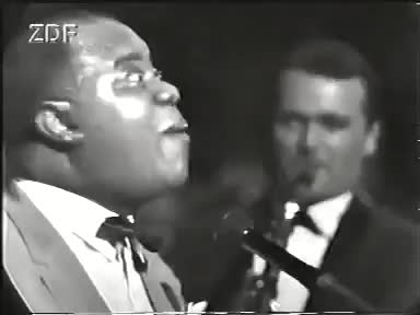 Watch and share Louis Armstrong GIFs on Gfycat