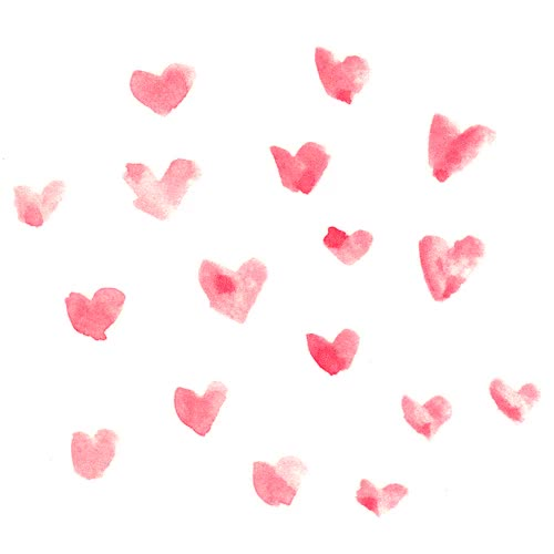 Watch and share Watercolor Hearts Pattern Animated GIFs on Gfycat