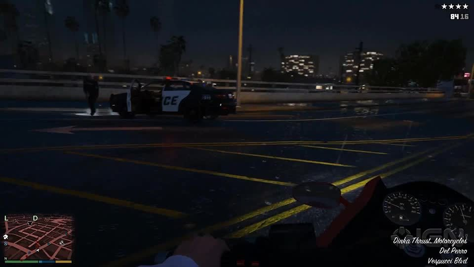 grandtheftautov, Grand Theft Auto: V First Person Trailer - Motorcycle GIFs