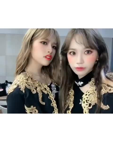 izone, Chaewon Yujin Nako Vampire GIFs