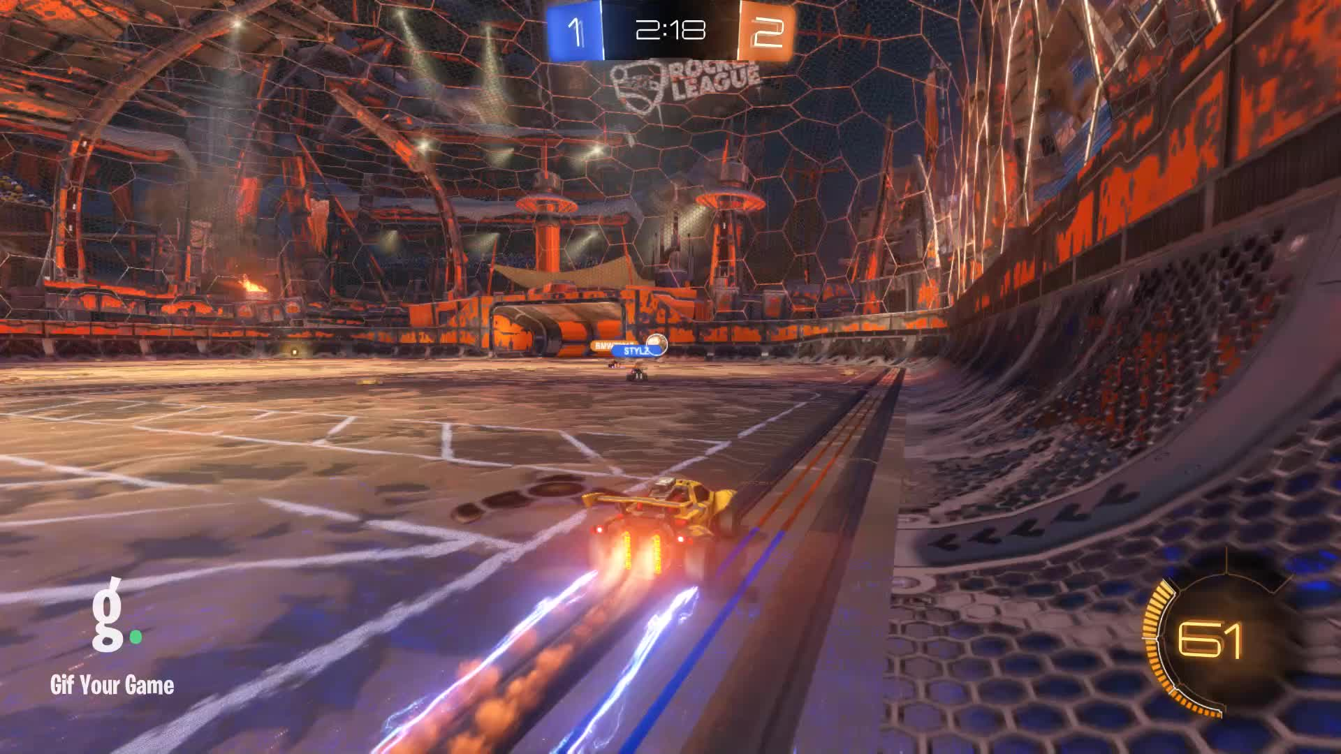 Gif Your Game, GifYourGame, Rocket League, RocketLeague, datboi   CLS, Save 4: datboi   CLS GIFs