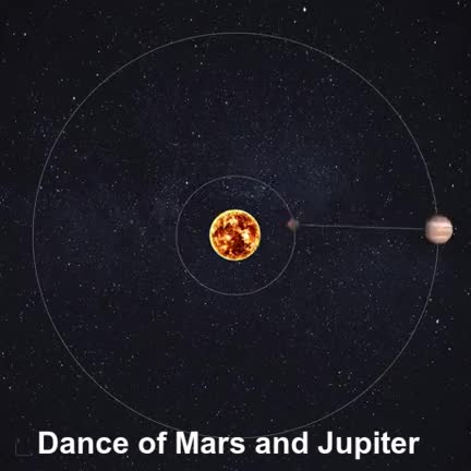Watch and share Dance Of Mars And Jupiter GIFs by Mahmoud M. Mahdali on Gfycat