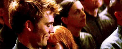 Watch and share Finnick Odair GIFs and Annie Cresta GIFs on Gfycat