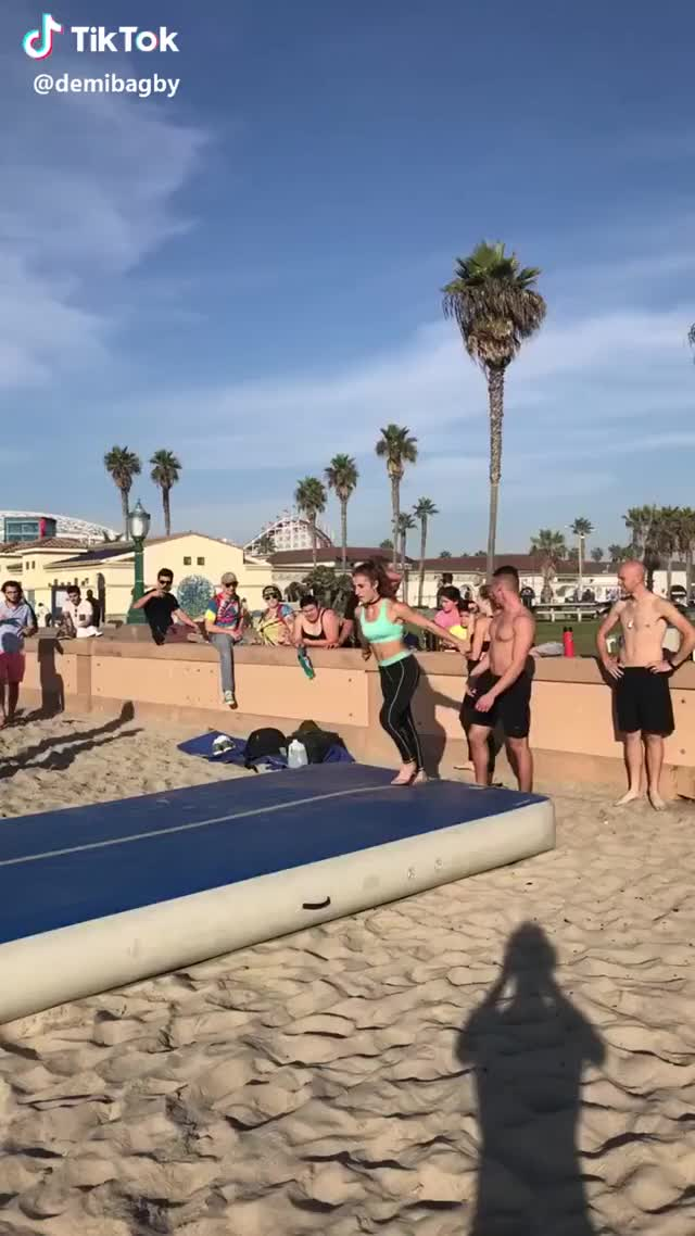 Watch and share Gymnastics GIFs and Fitness GIFs by TikTok on Gfycat