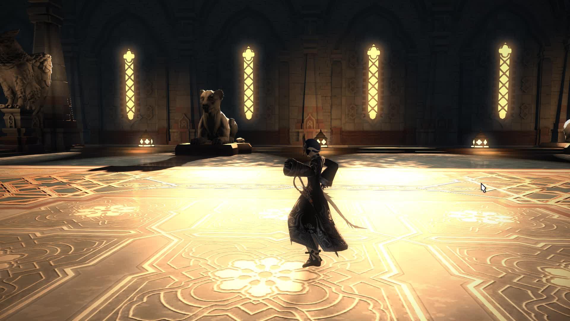 FFXIV- Gold Dance GIFs